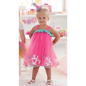 """🎉 Mud Pie """"Birthday 🎂 Girl"""" Tutu Dress 🎉"""